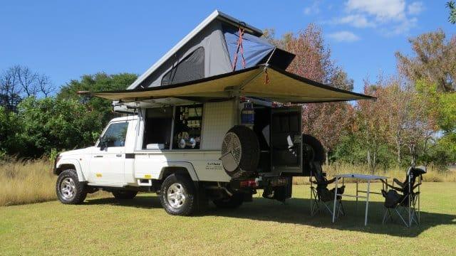 Toyota Landcruiser Bushcamper 4x4