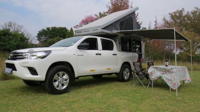 Toyota Hilux Bushcamper 4x4 For Hire Compare Amp Save