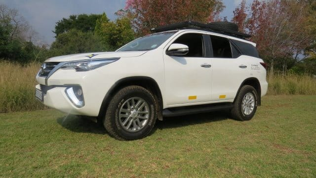 Toyota Fortuner 4x4 For Hire Compare Amp Save Drive