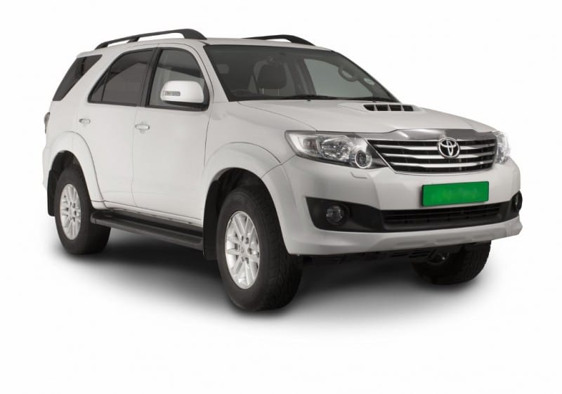 Toyota Fortuner D 4d 4x4 Automatic For Hire Compare Save Drive