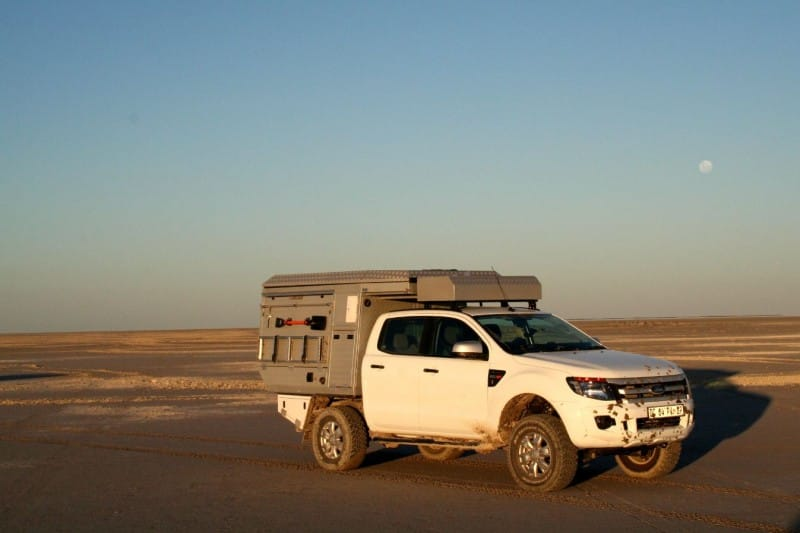 Ford Ranger Double Cab Bushcamper 2/4 People