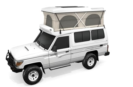 Toyota Landcruiser Single Cab Pop Top