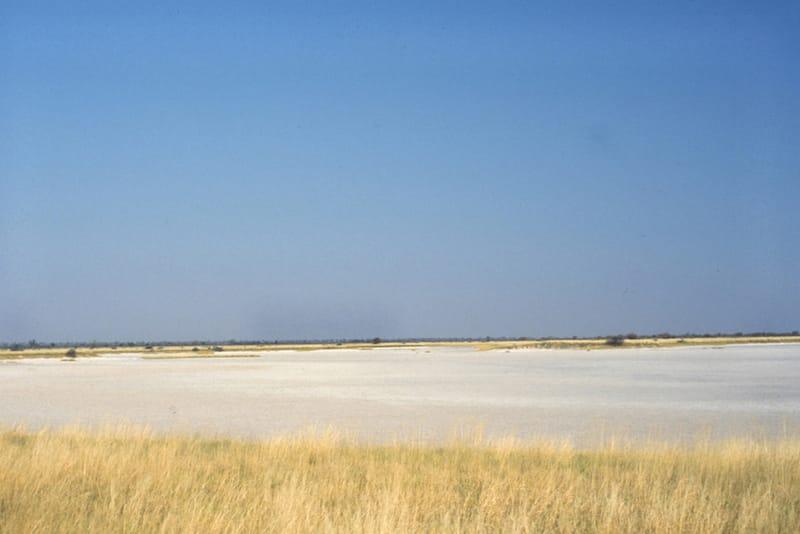 Salt Pan, Nxai Pan National Park, Botswana