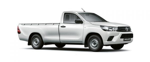Toyota Hilux Single Cab 4x4 One Ton