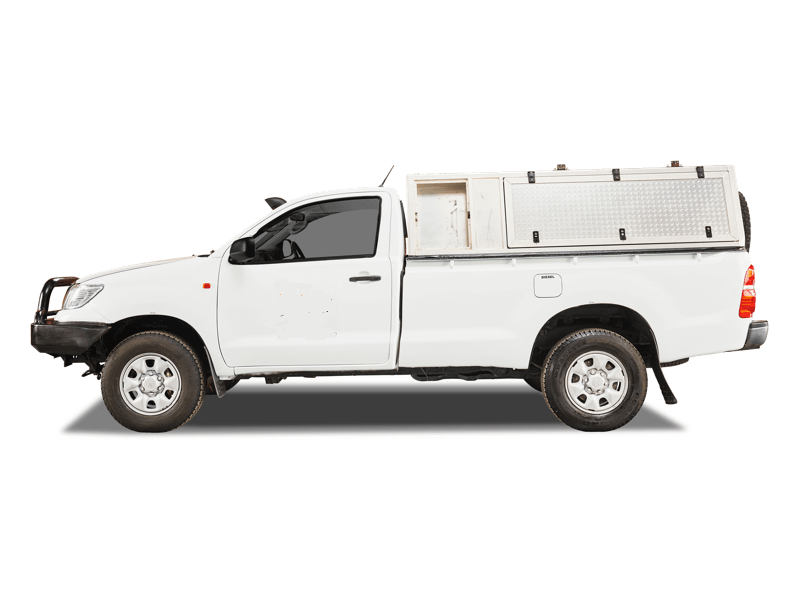 BTSC Toyota Single Cab 4x4