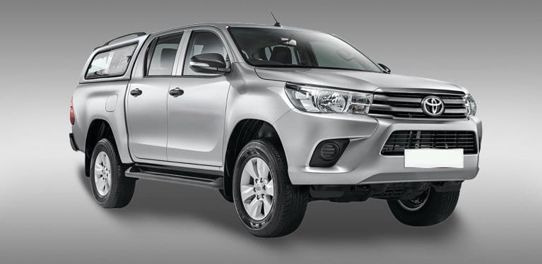 Toyota Hilux Off Road Double Cab 4x4 Standard Canopy