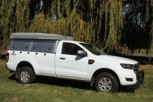 Ford Ranger Single Cab 4x4 Value Safari Camper