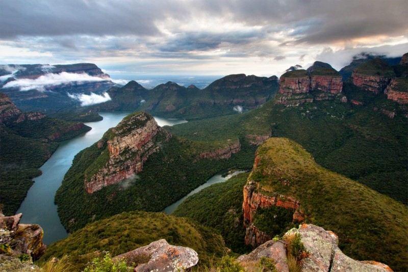 The Blyde River Canyon in South Africa