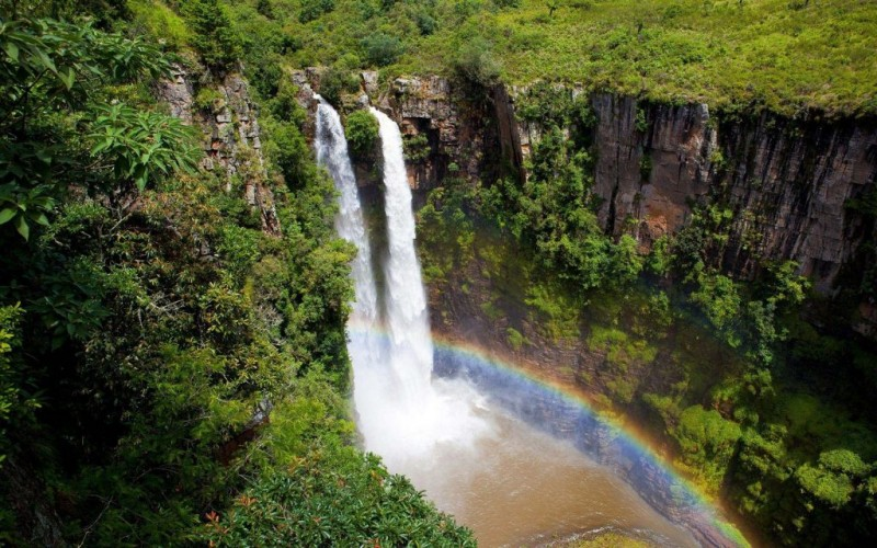 The waterfalls of Blyde River Canyon
