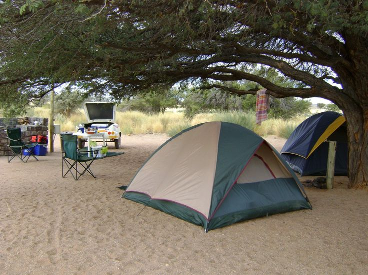 Campsites in Namibia