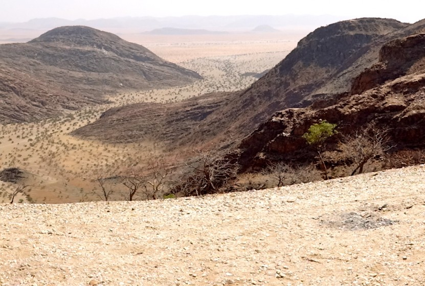 The Northern Kaokoland in Namibia