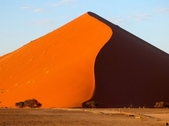 Namibia's Big Daddy dune is one of the world's highest