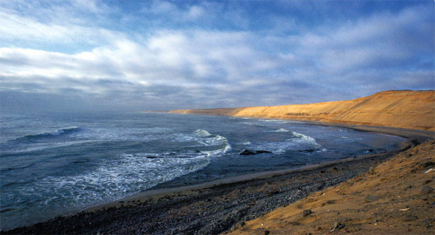 The Skeleton Coast is pristine and wild