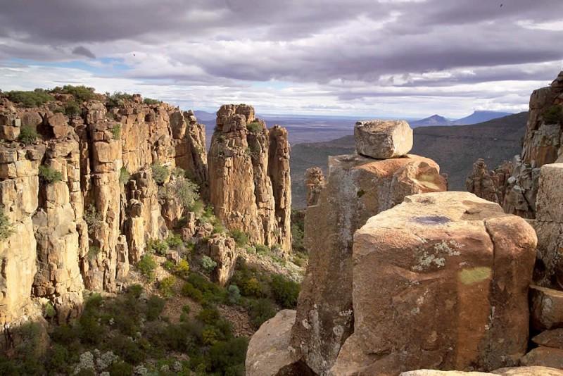 Desolation Valley of Namibia