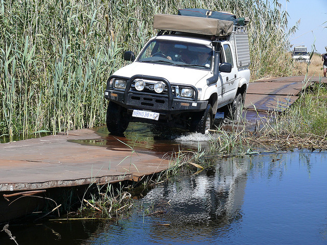 4x4 tips for driving in Namibia
