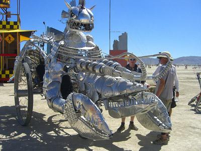 Burning Man 2010 Mutant Vehicle 4