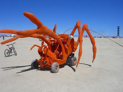 Burning Man 2010 Mutant Vehicle 3