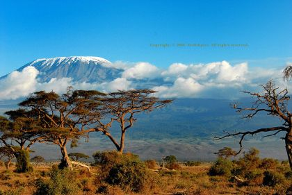 Mount Kilamanjaro, Africa (Alkebulan)
