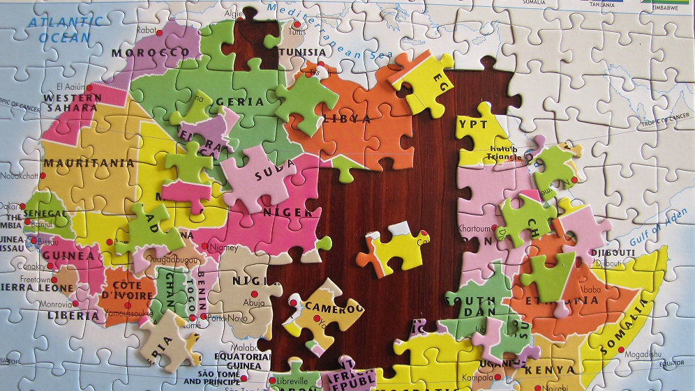 Map Of Africa Jigsaw Puzzle | Twitterleesclub