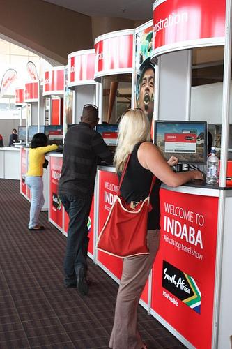 INDABA 2010 - Registering for Event