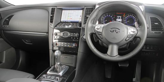 Infiniti FX SUV Interior
