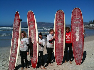 Learn2Surf surf school lesson
