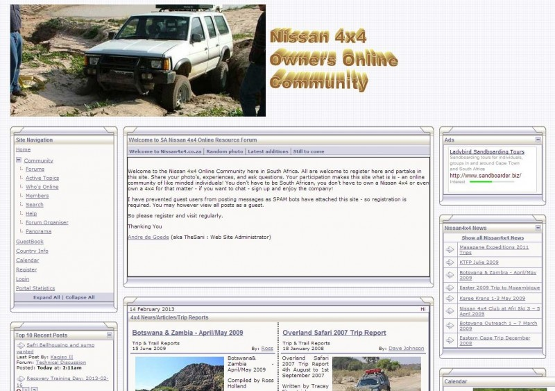 South African 4x4 forums - Nissan 4x4 Forum