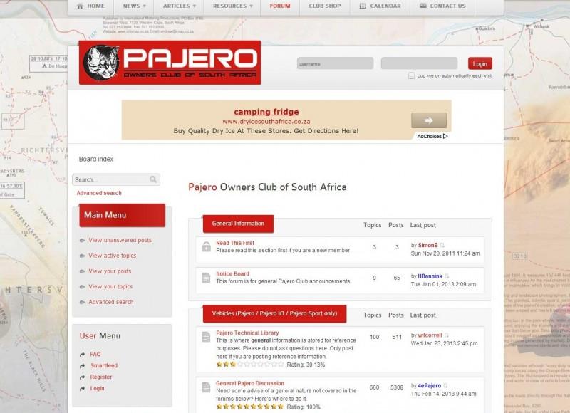 4x4 fan forums in South Africa