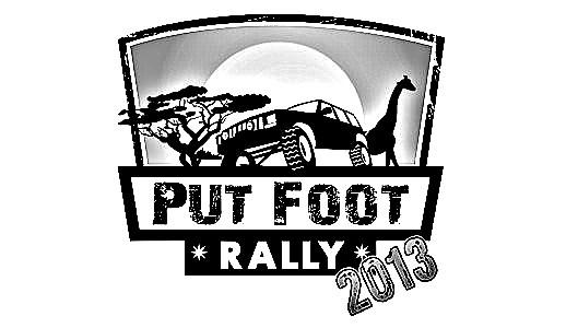 Put Foot Rally 2013 Logo