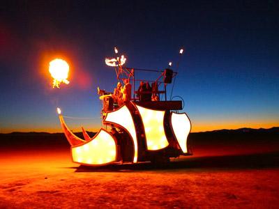 Burning Man 2010 Mutant Vehicle 1