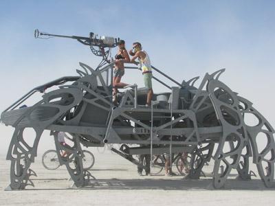 Burning Man 2010 Mutant Vehicle 2
