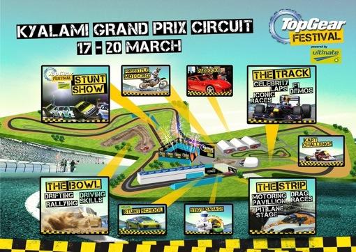 2011 Top Gear Festival Kyalami Grand Prix Circuit
