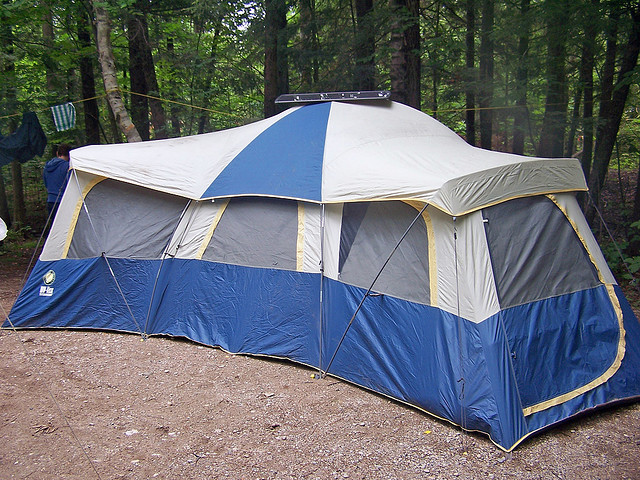 Tent with Solar energy