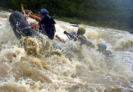 White Water Rafting Thugela River KwaZulu Natal